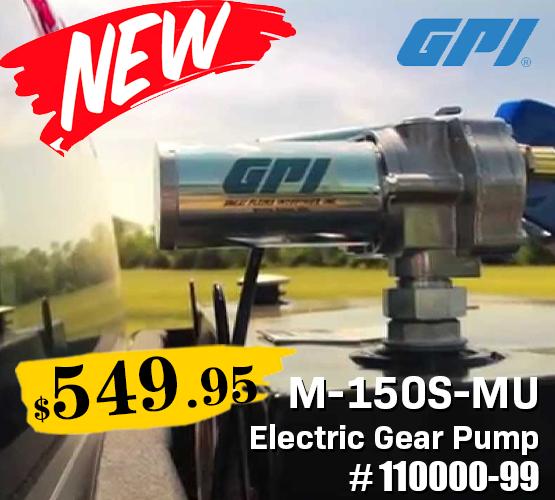 Electric Gear Pump