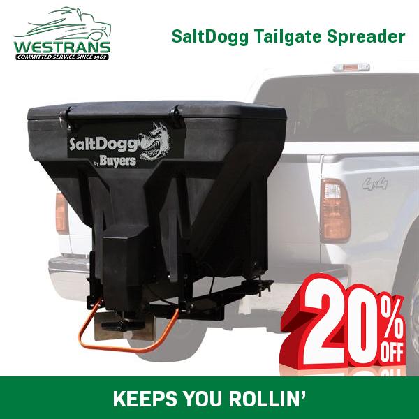 SaltDogg Tailgate Spreader
